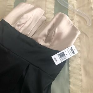 Knee length strapless cocktail dresss NWT
